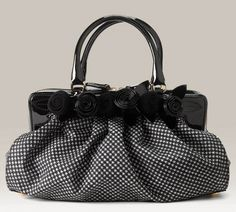 more houndstooth love Valentino Fleur bag