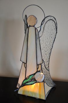 Galeria RSart- angel stained glass