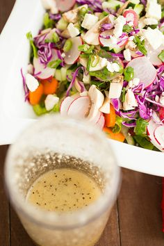 My Mom's Legendary Italian Salad Dressing by @browneyedbaker :: www.browneyedbaker.com