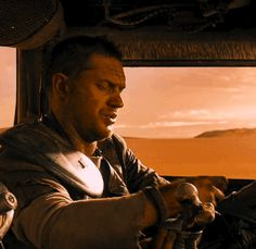 "Tom Hardy as Max Rockatansky in ""Mad Max Fury Road"""