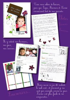 page cahier liaison blog