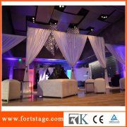 Decoration Pipe And Drape For Trade Show Displays