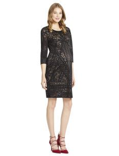 If this dress had ruched sides, it would be perfect!