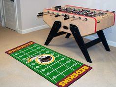 Washington Redskins Football Field Runner