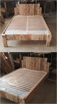 Sylvester Stallone's Life Story - Wood Ideas.Innovative Ideas to Recycle Old Wood Pallets In almost majority of the guest houses you might have capture the taste of placing pallet bed frame! This is much# Ideas Pallet Bed Frames, Wood Pallet Beds, Reclaimed Wood Beds, Diy Pallet Bed, Diy Bed Frame, Diy Pallet Projects, Pallet Furniture, Wood Pallets, Wood Wood