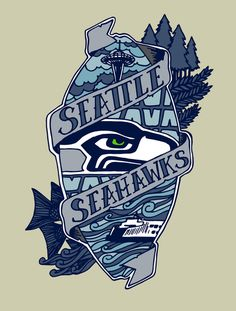 We are 12 space needle seattle seahawks wall art Etsy in