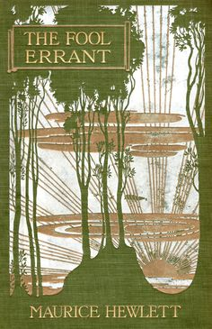 Art nouveau influence book cover 1905
