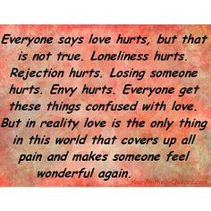 LOVE ALLOWS US TO STRIVE. LOVE MAKES US FEEL LIKE WE CAN FLY. LOVE MAKES US FEEL HIGH ON LIFE. THIS IS WHY WE JUMP INTO A RELATIONSHIP & WITH IT USUALLY COMES THAT AWESOME FEELING OF LOVE. BUT MANY TIMES AFTER WE JUMP IN WE REMEMBER THE HURT WE ENDURED IN OUR PRIOR RELATIONSHIPS. INSTEAD OF STAYING & SAYING THIS IS A NEW RELATIONSHIP, A NEW PERSON & THIS PERSON MAKES ME FEEL WONDERFUL. WE BAIL & MANY TIMES LOSE OUT IN THE RIGHT PERSON & THE RIGHT RELATIONSHIP. GIVE EACH PERSON THAT CHANCE…