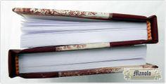 detalle Libros unidos en serie Bookbinding http://petry.es/category/manolo/encuadernacion/