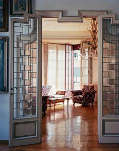 Piero Portaluppi fut pendant cinquante ans l'architecte de l'élite et des beaux quartiers milanais. Une œuvre d'une modernité fondamentale, à redécouvrir absolument. © Philippe Garcia