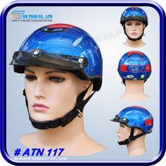 Mũ Bảo Hiểm BOSS ATN117 http://mubaohiemantran.com/boss/mu-bao-hiem-nua-dau-atn117-helmet
