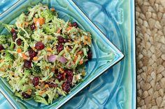 Broccoli Salad (raw, vegan)