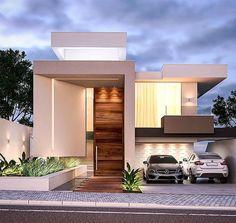 Exterior home modern porches 49 ideas Modern Architecture House, Modern House Design, Architecture Design, Style At Home, Ultra Modern Homes, Home Building Design, House Elevation, Facade House, Modern Porch