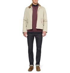 Private White V.C.Weather-Resistant Ventile Cotton Bomber Jacket|MR PORTER. More beige bombers for my shopping list.