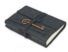 leather journal on Wanelo