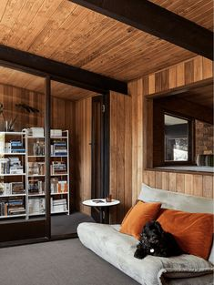 Hot Design Tip: Open Shelf Bookcases Create Visual Drama And Add A LOT Of Style (+ 30 Of Our Favorites) - Emily Henderson #bookshelfdecor #homedesign #style Bookcase Shelves, Bookcases, Shelf, Paint Colors For Living Room, Living Room Decor, Living Rooms, 1970s House, Decorating Small Spaces, Mid Century Style
