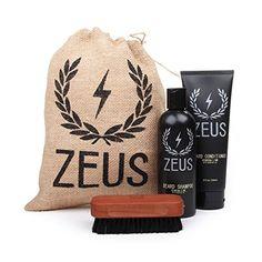 Zeus Basic Beard and Moustache Grooming Kit for Men