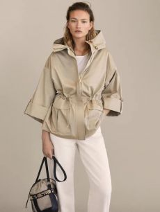 Cotton hooded parka - All About 2020 Fashion Trends, Fashion 2020, Look Fashion, Fashion Outfits, Summer Outfits, Casual Outfits, Winter Outfits, Athleisure Outfits, Moda Boho