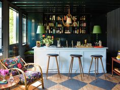 17 Home Bars Where Its Always Cocktail Time