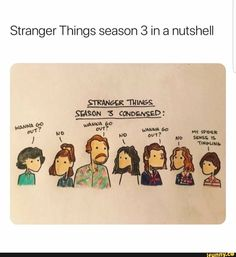 memes 2 comments — iFunny Stranger Things season 3 in a nutshell – popular memes on the site Stranger Things season 3 in a nutshell – popular memes on the site Stranger Things Fotos, Watch Stranger Things, Stranger Things Have Happened, Stranger Things Season 3, Stranger Things Netflix, Comment Memes, Funny Jokes, Hilarious, Stranger Danger
