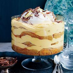 Layers of silky pumpkin mousse and coffee-dipped ladyfingers create a spectacular tiramisu that's a terrific alternative to pumpkin pie.