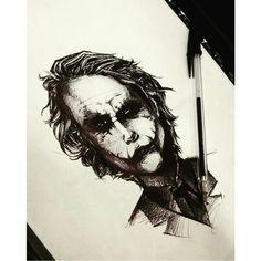 The Joker  Pencil drawing