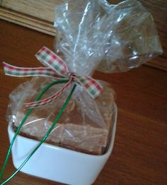 Fudge in bowl Christmas Goodies, Fudge, Gift Wrapping, Create, Desserts, Gifts, Food, Gift Wrapping Paper, Presents