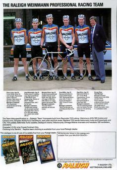 Bicycle Race, Bike, Vintage Cycles, Racing Team, Team Building, Cycling, Champion, Baseball Cards, Yorkshire