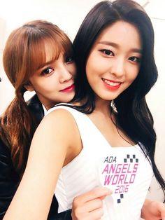 Jimin and Seolhyun