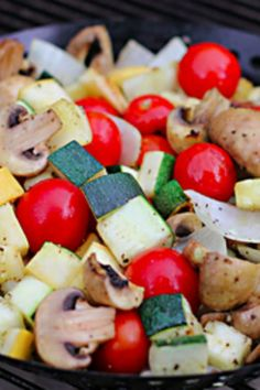 Grill up some healthy veggies for a hassle free side dish.