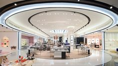 Nulty - Bloomingdale's, 360 Mall, Kuwait - Architectural Lighting Scheme Luxury Shopping Experience New Department Store