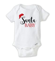 Santa baby christmas onesie baby bodysuit, funny christmas o Baby Christmas Onesie, Baby Christmas Gifts, Funny Christmas, Christmas Outfits, Boy Onesie, Baby Bodysuit, Baby Boy Shoes, Baby Boy Outfits, Baby Boy Newborn