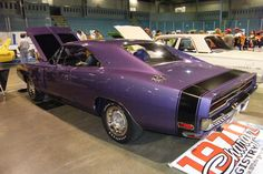 Dodge Chargers were so much better in 1970. And the purple doesn't hurt.