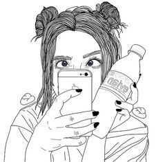 tumblr drawings hipster - Szukaj w Google