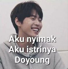 Memes Funny Faces, Cute Memes, Nct Doyoung, Na Jaemin, Nct 127, Idol, Random Meme, Handsome, Husband