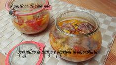 Spezzatino+di+manzo+e+peperoni+in+vasocottura