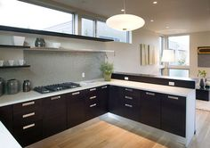 Feldman Architecture - modern - kitchen - san francisco - Feldman Architecture, Inc.**backsplash wall