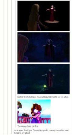 Mother Gothel vs. The Queen