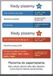 PAKIET: Ortografia - Pisownia (3 plansze dydaktyczne) Aa School, Back To School, School Ideas, Learn Polish, Polish Language, Language And Literature, School Subjects, Working With Children, Social Platform