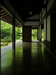 Japan - Garden Viewing Veranda at Genkoan Temple in Kyoto Architecture Du Japon, Asian Architecture, Architecture Design, Pavilion Architecture, Sustainable Architecture, Residential Architecture, Contemporary Architecture, Japanese Interior Design, Japanese Design