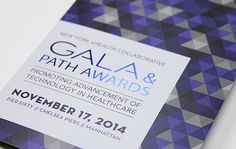 Our work: Gala Invitation Design | Trillion Creative