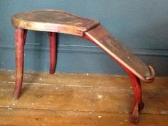 Vintage Industrial Shoe Shop Stool