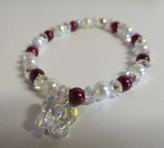 Brides bracelet - swaroski crystals and pearls