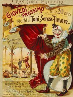 Cartell del Gran Circo Equestre.
