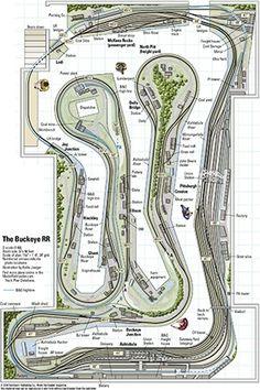 The Buckeye RR - from Track Plan Database | ModelRailroader.com