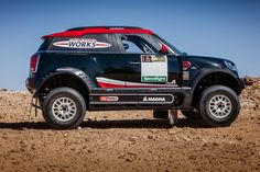 The 2017 Dakar Rally will have a new MINI JCW Countryman model racing in it, that's even better than the old one.