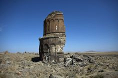 Ruins of Ani, in eastern Anatolia. Ani is a ruined and uninhabited medieval city-site situated in the Turkish province of Kars, beside the border with Armenia. It was once the capital of a medieval Armenian kingdom that covered much of present day Armenia and eastern Turkey.