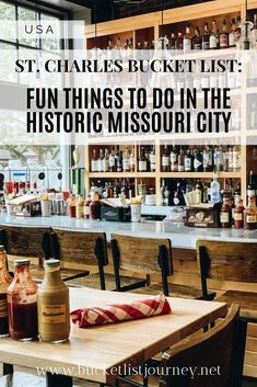 Charles Bucket List: 9 Things to Do in Missouri's Historic Town Minneapolis, Nashville, Las Vegas, Day Trips, Weekend Trips, Girlfriends Getaway, Ghost Tour, Saint Charles, New Things To Learn