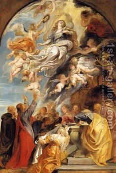 The Assumption of Mary Peter Paul Rubens 1622 religious art Peter Paul Rubens, Catholic Art, Religious Art, Mary In The Bible, Mary Peters, Assumption Of Mary, Assumption Parish, Renaissance Kunst, Images Of Mary