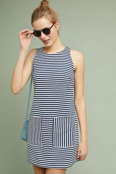 838c5ab859 Slide View  1  Talia Striped Shift Dress Fashion Models